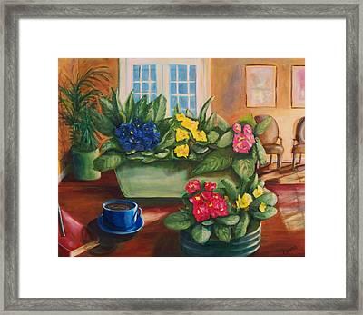 Morning Coffee Framed Print by Dana Redfern
