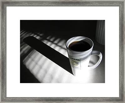 Morning Coffee Framed Print