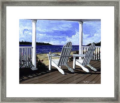 Morning Coffee Framed Print by M S McKenzie