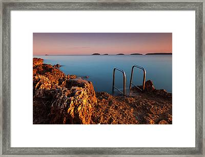 Framed Print featuring the photograph Morning Colors by Davor Zerjav