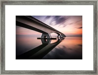 Morning Colors Framed Print by Sus Bogaerts