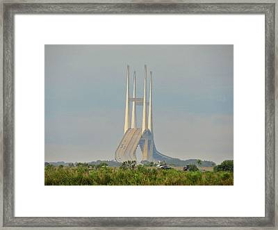 Morning Commute Framed Print by Laura Ragland