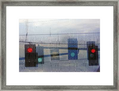 Morning Commute Framed Print by Rebecca Cozart