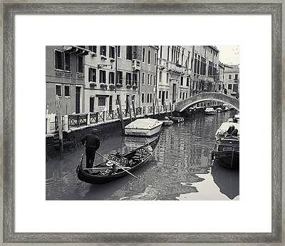 Morning Commute Framed Print by Richard Goodrich