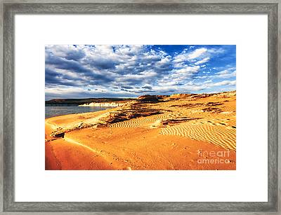 Morning Couds Lake Powell Framed Print by Thomas R Fletcher