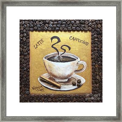 Morning Cup Of Coffee Framed Print