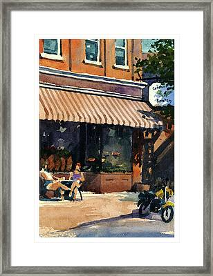 Morning Cuppa Joe Framed Print
