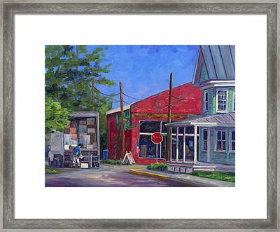Morning Delivery Framed Print by Jeff Pittman