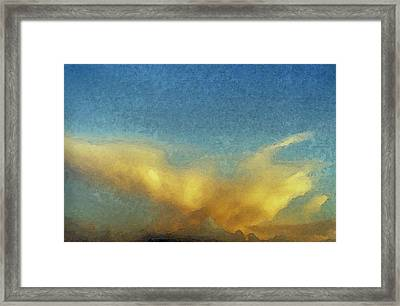 Morning Dove Framed Print
