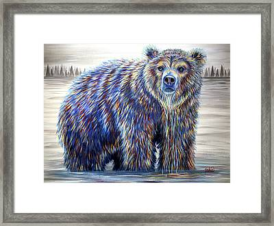 Morning Drink Framed Print by Teshia Art