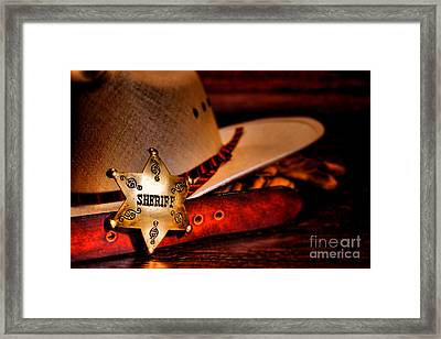 Morning Duty Framed Print