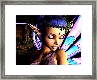 Morning Fairy  Framed Print
