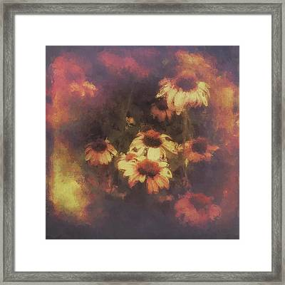 Morning Fire - Fierce Flower Beauty Framed Print