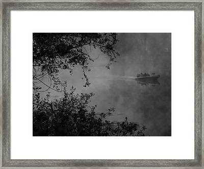Morning Fisherman Framed Print by Michael L Kimble