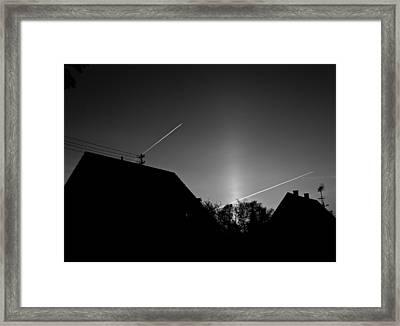 Morning Flight Framed Print by Richard Pierce