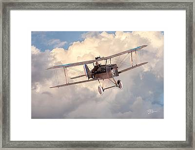 Morning Flight - Se5a Framed Print by David Collins