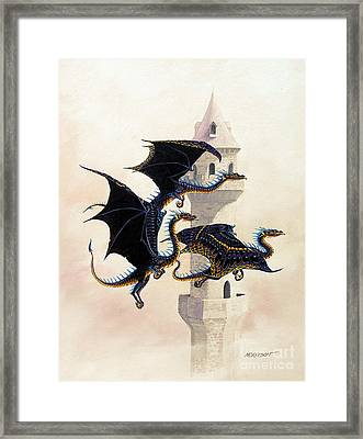 Morning Flight Framed Print by Stanley Morrison
