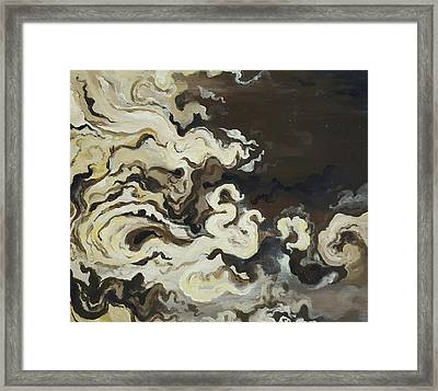 Morning Flow Framed Print
