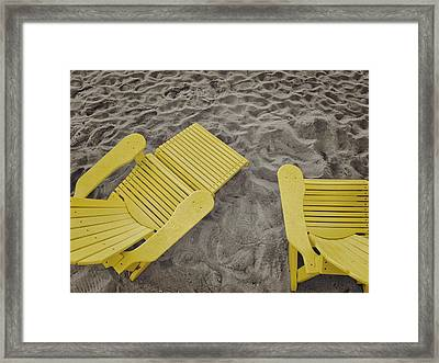 Morning Footsteps Framed Print by JAMART Photography