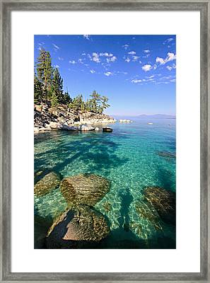 Morning Glory At The Cove Framed Print by Sean Sarsfield