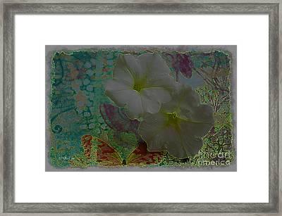 Morning Glory Fantasy Framed Print