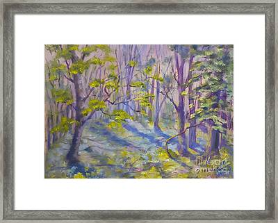 Morning Glory Framed Print by Genevieve Brown