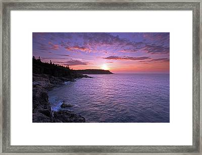 Framed Print featuring the photograph Morning Glory by Juergen Roth