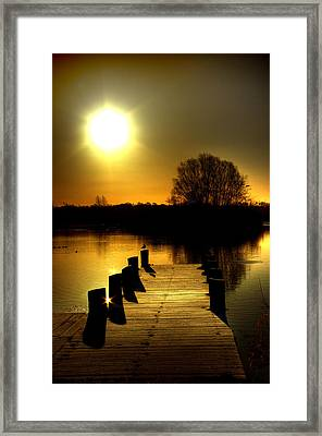 Morning Glory Framed Print by Kim Shatwell-Irishphotographer