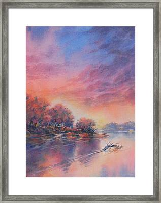 Morning Glory No 1 Framed Print by Virgil Carter