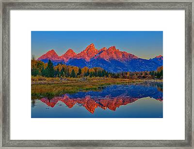 Morning Glow Framed Print by Greg Norrell