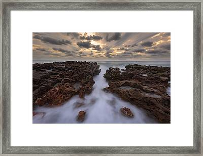 Morning Glow Framed Print by Mike Lang