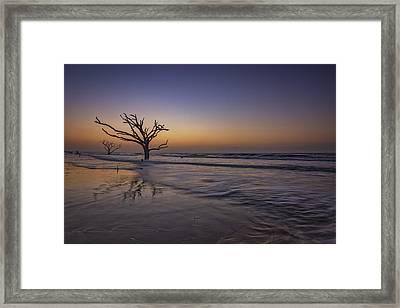 Morning Glow On Edisto Island Framed Print