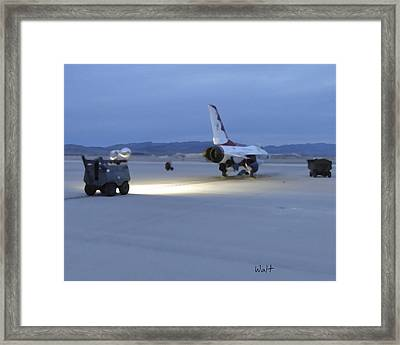 Morning Go Framed Print