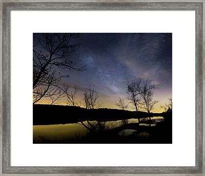 Morning Gold Framed Print by Bill Wakeley