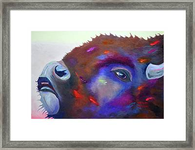 Morning Grunt Framed Print