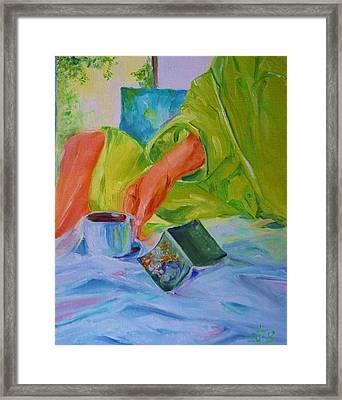 Morning Habit Framed Print by Irit Bourla