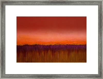 Morning Has Broken - Art By Jim Whalen Framed Print