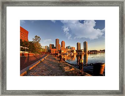 Morning Has Broken Framed Print by Joann Vitali