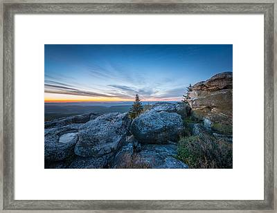 Monongahela National Forest Wilderness Morning Light Framed Print