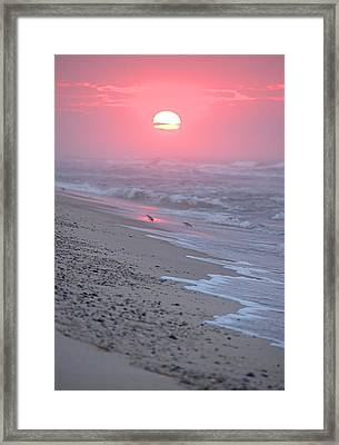 Framed Print featuring the photograph Morning Haze by  Newwwman
