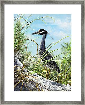 Morning Hunt Framed Print