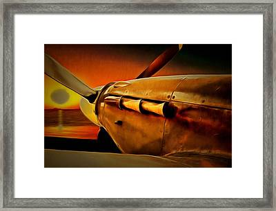 Morning Hurricane Framed Print by Scott Carruthers