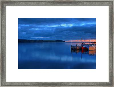 Morning In Cape Breton Framed Print