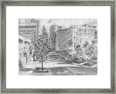 Morning In Clayton Framed Print by Horacio Prada