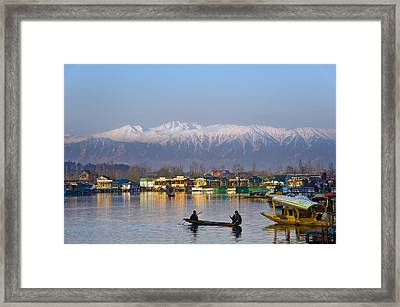 Morning In Kashmir Framed Print