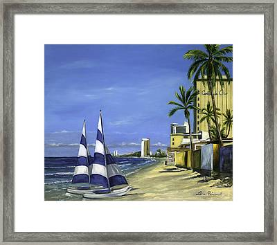 Morning In Mazatlan Framed Print
