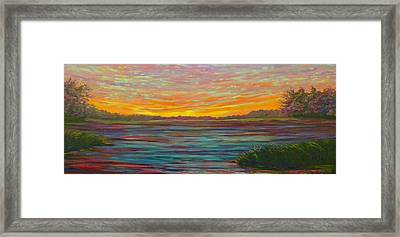 Southern Sunrise Framed Print