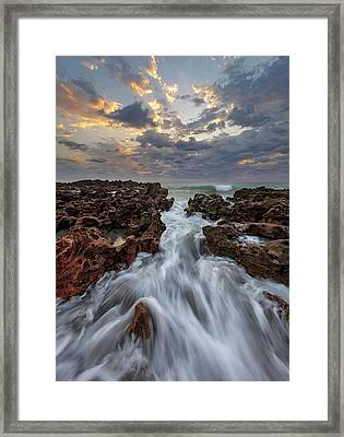 Morning In Motion Framed Print by Mike Lang