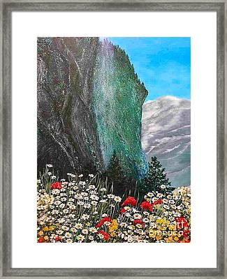 Morning In Mountains  Framed Print by Viktoriya Sirris