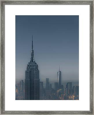 Morning In New York Framed Print by Chris Fletcher